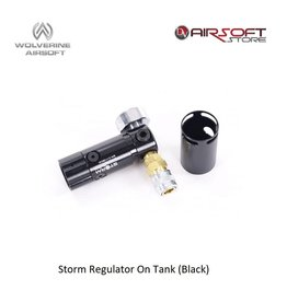 Wolverine Storm Regulator On Tank (Black)