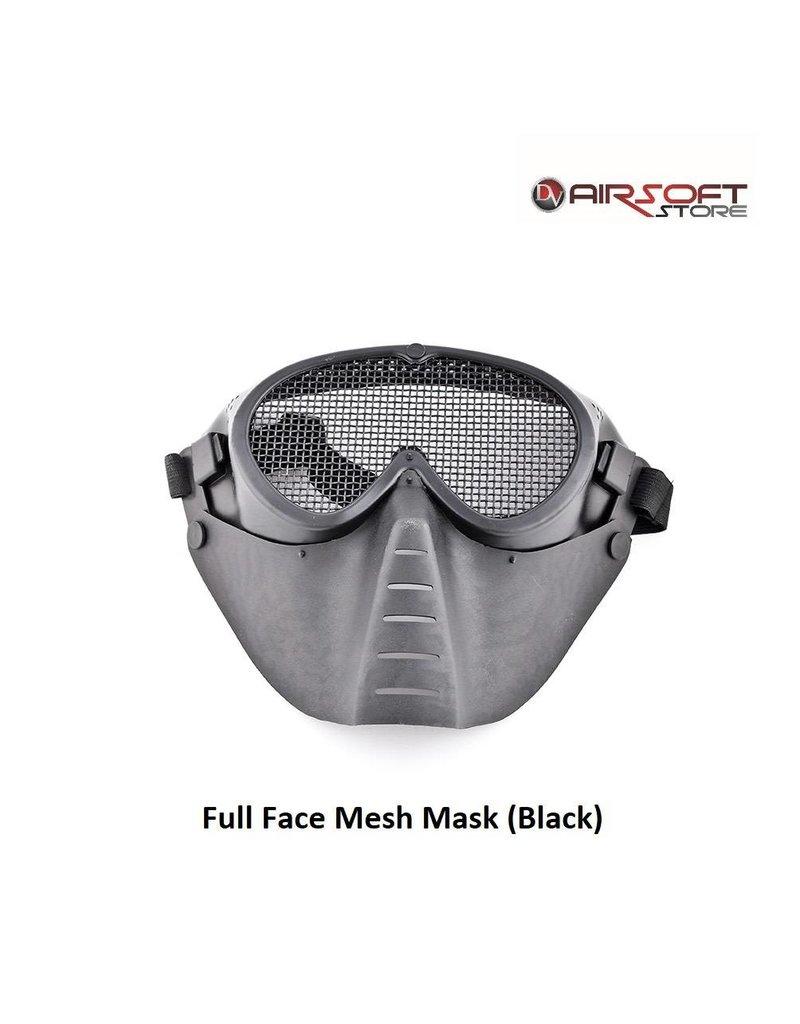 Full Face Mesh Mask (Black)