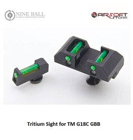 Nine Ball Tritium Sight for TM G18C GBB