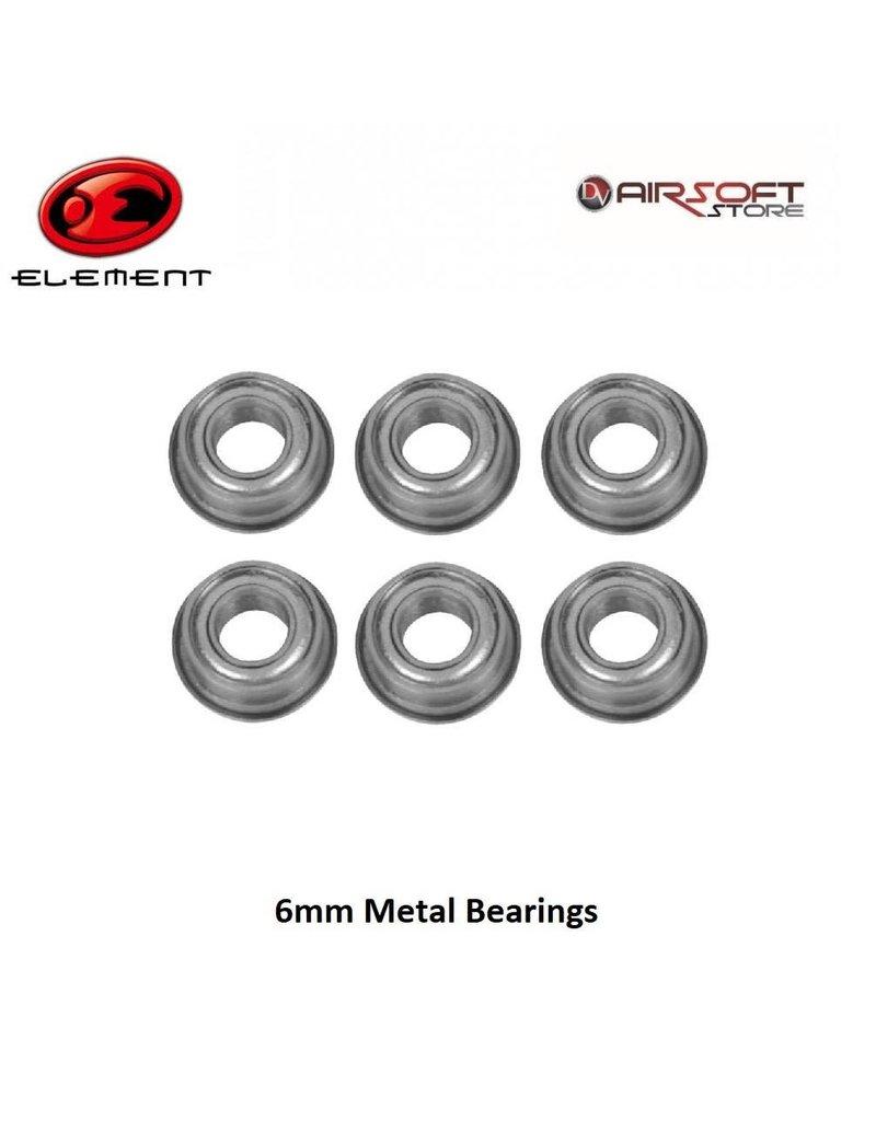 Element 6mm Metal Bearings (6 pcs)