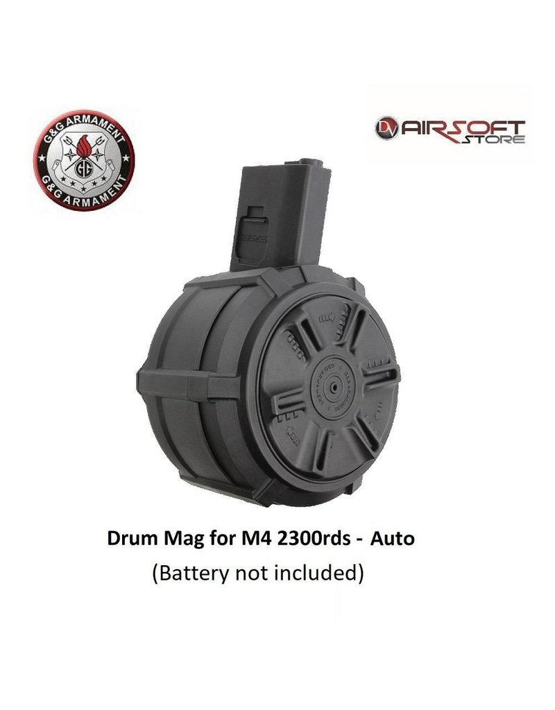 G&G Drum Mag for M4 2300rds - Auto