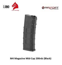 Lonex M4 Magazine Mid-Cap 200rds (Black)