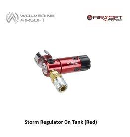 Wolverine Storm Regulator On Tank (Red)