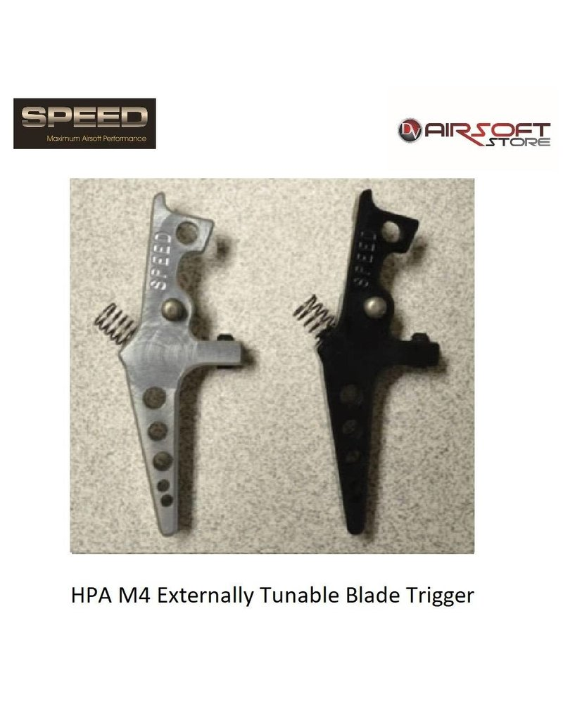 Speed Airsoft HPA M4 Externally Tunable Blade Trigger