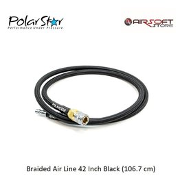Polarstar Braided Air Line 42 Inch Black (106.7 cm)