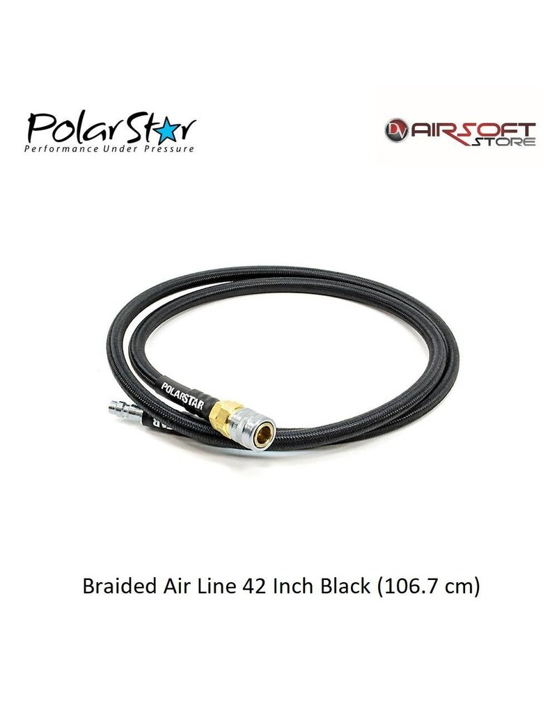 Polarstar Braided Air Line 42 Inch Black (106.7 cm)
