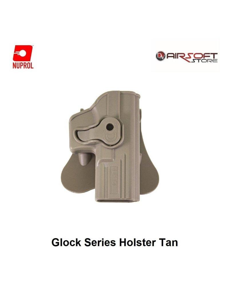 NUPROL Glock Series Holster Tan