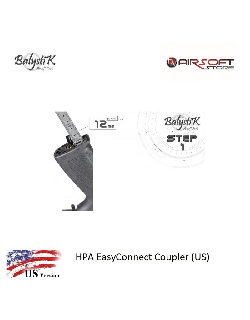 Balystik HPA EasyConnect Coupler (US)