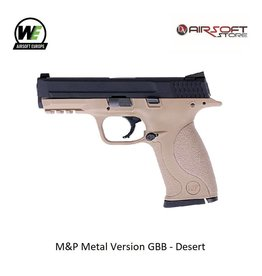 WE M&P Metal Version GBB - Desert
