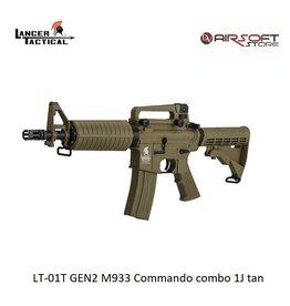 Lancer Tactical LT-01T GEN2 M933 Commando combo 1J tan