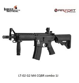 Lancer Tactical LT-02 G2 M4 CQBR combo 1J