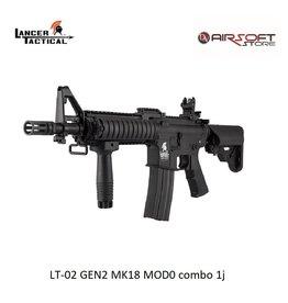 Lancer Tactical LT-02 GEN2 MK18 MOD0 combo 1j
