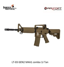 Lancer Tactical LT-03 GEN2 M4A1 combo 1J Tan