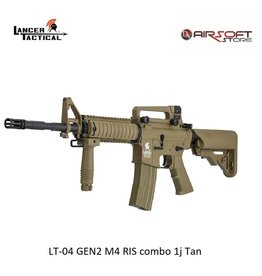 Lancer Tactical LT-04 GEN2 M4 RIS combo 1j Tan