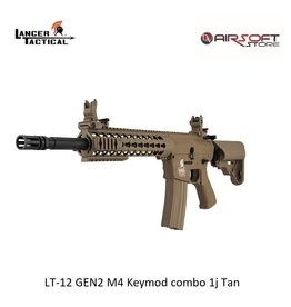 Lancer Tactical LT-12 GEN2 M4 Keymod combo 1j Tan