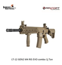 Lancer Tactical LT-12 GEN2 M4 RIS EVO combo 1j Tan