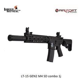 Lancer Tactical LT-15 GEN2 M4 SD combo 1j