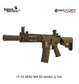 Lancer Tactical LT-15 GEN2 M4 SD combo 1j Tan