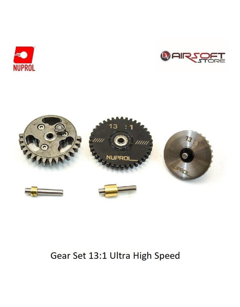 NUPROL Gear Set 13:1 Ultra High Speed