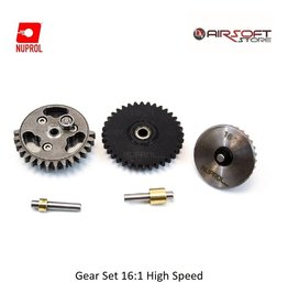 NUPROL Gear Set 16:1 High Speed