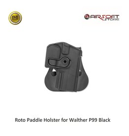 IMI Defense Roto Paddle Holster for Walther P99 Black