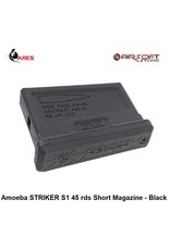Ares Amoeba STRIKER S1 45 rds Short Magazine - Black