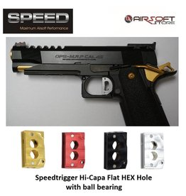 Speed Airsoft TM Hi-Capa ball bearing trigger HEX Hole (flat)