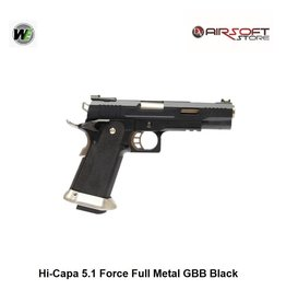WE Hi-Capa 5.1 G-Force TREX GBB - Black