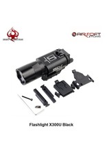 Night Evolution Flashlight X300U Black