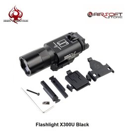 Night Evolution Flashlight X300U Black