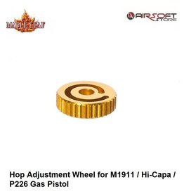 Maple Leaf Hop Adjustment Wheel for M1911 / Hi-Capa / P226 Gas Pistol