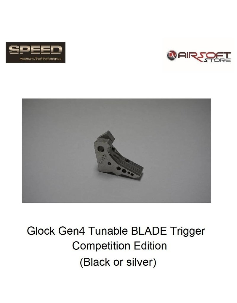 Speed Airsoft Glock Gen4 Tunable BLADE Trigger Competition Edition