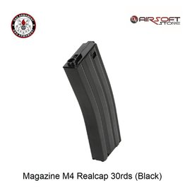 G&G Magazine M4 Realcap 30rds (Black)