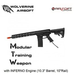 """Wolverine MTW with INFERNO Engine (10.3"""" Barrel, 10""""Rail)"""