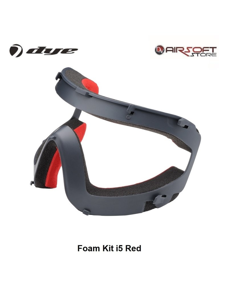 DYE PRECISION Foam Kit i5 Red