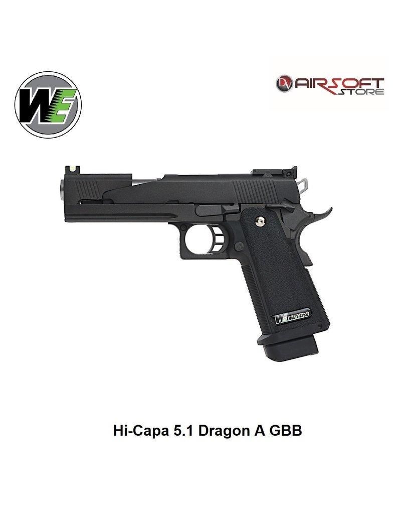 WE Hi-Capa 5.1 Dragon A GBB