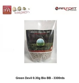 Green Devil 0.30g Bio BB - 3300rds