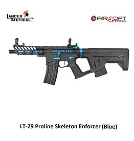 Lancer Tactical LT-29 Proline Skeleton Enforcer (Blue)