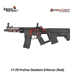 Lancer Tactical LT-29 Proline Skeleton Enforcer (Red)