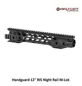 "Handguard 12"" RIS Night Rail M-Lok"