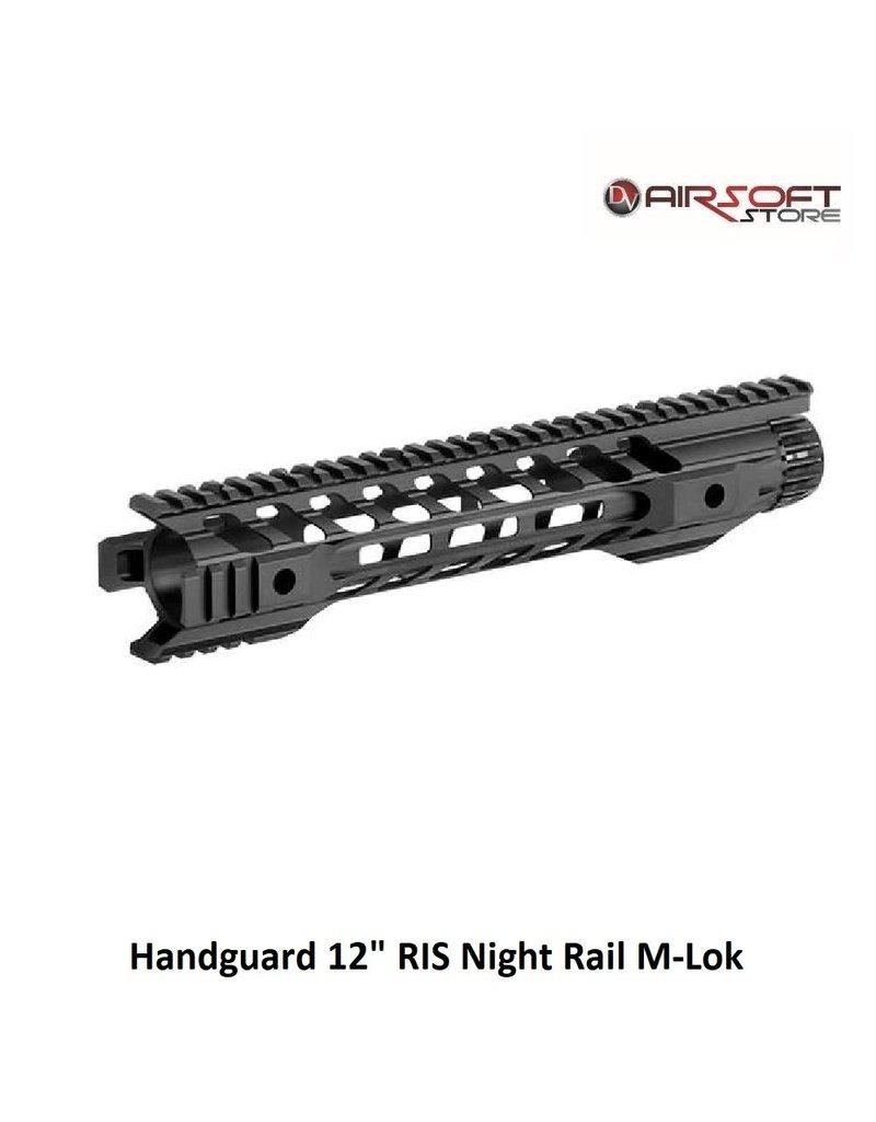 "Handguard 12"" RIS Night Rail M-Lok"