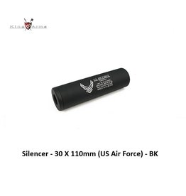 King Arms Silencer - 30 X 110mm (US Air Force) - BK