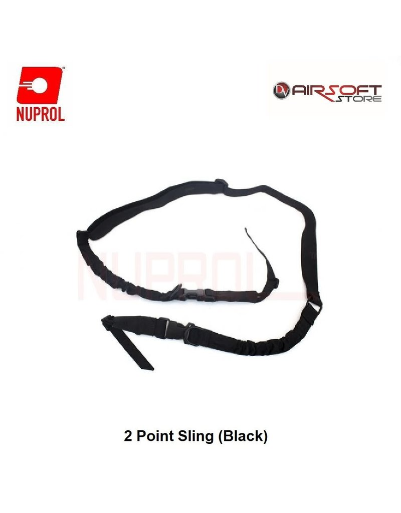NUPROL 2 Point Sling (Black)