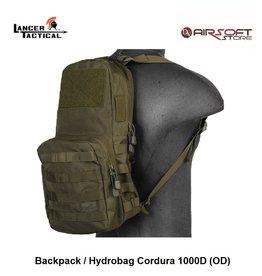 Lancer Tactical Backpack / Hydrobag Cordura 1000D (OD)