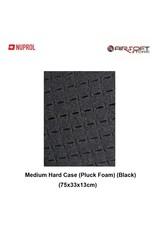 NUPROL Medium Hard Case (Pluck Foam) (Black)
