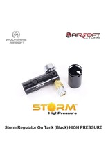 Wolverine Storm Regulator On Tank (Black) HIGH PRESSURE