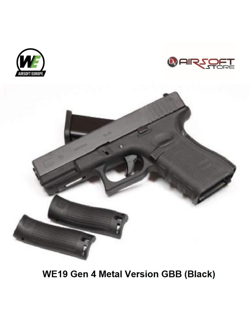 WE WE19 Gen 4 Metal Version GBB (Black)