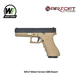 WE WE17 Metal Version GBB Desert