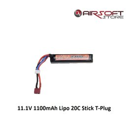 VB Power 11.1V 1100mAh Lipo 20C Stick T-Plug