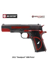 "Armorer Works 1911 ""Deadpool"" GBB Pistol"